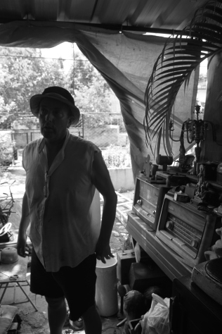 Garage Vintage Store owner Jose